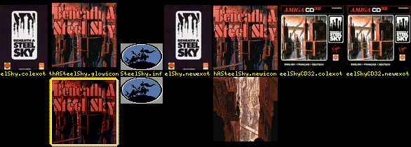 WHDLoad Install for Beneath A Steel Sky (Virtual Theatre/Virgin)
