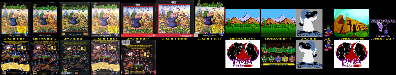 WHDLoad Install for Lemmings (Psygnosis/DMA Design)