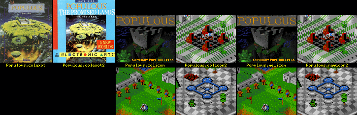 WHDLoad Install for Populous (Bullfrog)